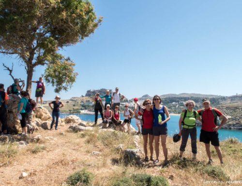 Trekking a Rodi, il programma settimanale ideale