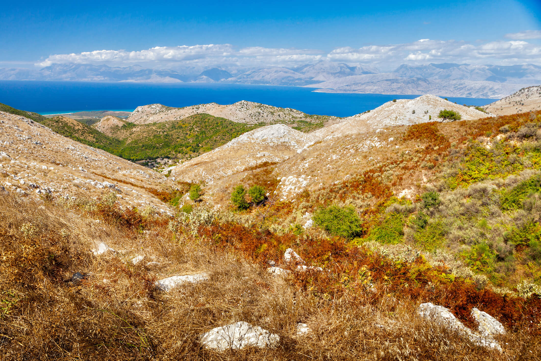 (Corfù) Monte Pantokrator
